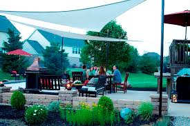 Shade Backyard Shade Sail Backyard Shade Sail Ideas For A Better Home