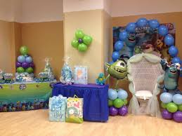 monsters inc baby shower decorations monsters inc party decoration ideas