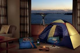 In Door by Indoor Campout Package The Ritz Carlton New York Battery Park