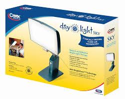 sunlight light bulbs for depression amazon com carex health brands day light sky 10 000 lux bright