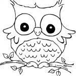 printable animal owl coloring pages for teens people beautiful