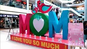Mother S Day Decorations Mother U0027s Day Decorations At Phoenix Mall Lucknow Youtube