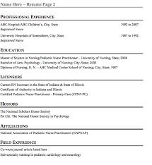 Best Resume Format For Nurses by Nursing Student Chronological Resume Sample Ninareads Com Resume