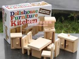 Kitchen Furniture Cheap Kitchen Furniture Miniature Wooden Dollhouse Furniture Sets Toys