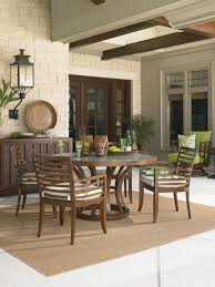 Seldens Furniture Tacoma by Ocean Club Pacifica Tommy Bahama Round Dining Table Lexington