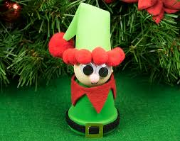 father christmas elf hat craft idea little crafty bugs blog