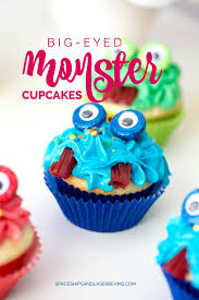 Cup Cakes Halloween by Monster Party Ideas Spaceships And Laser Beams