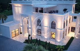 Villa Exterior Design White Modern Islamic Villa Exterior Design U2013 Cas