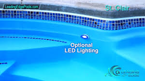 who makes the best fiberglass pool aquaserv pool spa inc leading edge st clair fiberglass pool