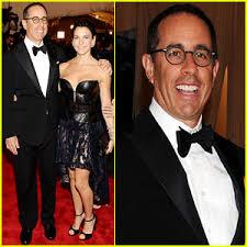 Jerry Seinfeld Halloween Costume Jerry Seinfeld Met Ball 2013 Red Carpet Wife Jessica 2013