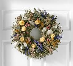 outdoor wreaths pottery barn