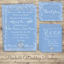 cinderella wedding invitations cinderella wedding invitation kit cinderella wedding invitations