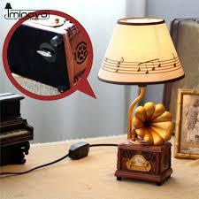 aliexpress com buy iminovo gramophone lamp stepless dimming home