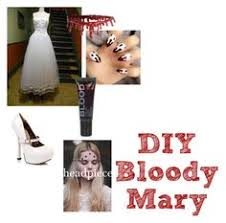 Halloween Bloody Mary Costume Bloody Mary Costume Diy Bloody Mary Costume