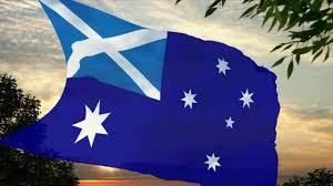 flag of scottish australia youtube