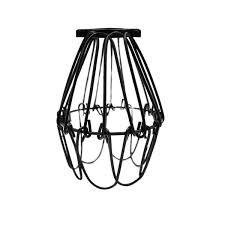 wire cage pendant light black mini industrial warehouse style wire cage pendant light