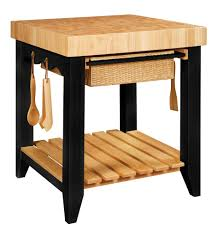 Crosley Furniture Kitchen Island by Color Story Black Butcher Block Kitchen Island Powell 502 416