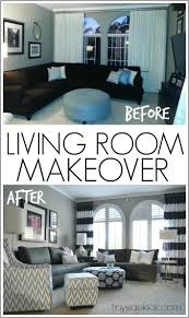 bold and bright living room makeover before u0026 after