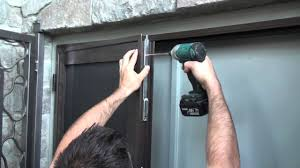 Screen French Doors Outswing - french door security screen install youtube