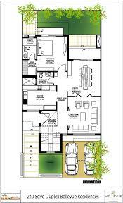 Duplex Layout by Vatika Bellevue Residences Sector 82 Gurgaon Overview Floor