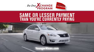 nissan finance skip a payment be one xchange program upgrade your vehicle new nissan same