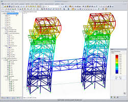 structural frame analysis software rstab calculation dlubal