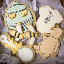 Classic Pooh Baby Shower Favors Winnie The Pooh Baby Shower Cookies The Royal Icing Queen Pooh