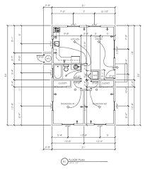 dimensioned floor plan floor plans and architectural drafting design measurements