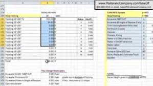 excel spreadsheet for construction estimating greenpointer
