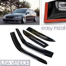 lexus convertible for sale new zealand for 99 03 lexus is200 300 usa window wind deflector rain guard