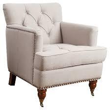 linen club chair tafton linen club chair beige abbyson living target