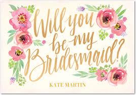 in bridesmaid card 10 free bridesmaid cards southern savers