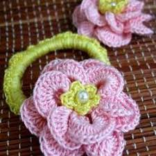 crochet hair bands crochet hair band with flowers for sale in coimbatore on