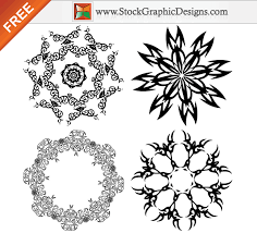 free vector ornamental design elements 123freevectors