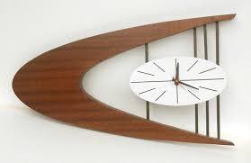 mid century wall clock trendy midcentury wall clock 150 vintage