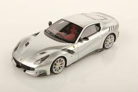 Ferrari F12 Silver - ferrari f12 tdf 1 43 looksmart models