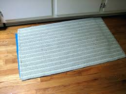Kitchen Rugs With Rubber Backing 3 X 5 Rugs With Rubber Backing 8 In X 10 Ft 4 In Supreme Dual