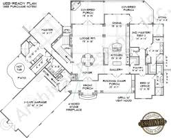 House Plans With Three Car Garage Cascade Cottage House Plan Home Plans By Archival Designs