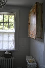 Vintage Bathroom Cabinet Vintage Bathroom Cabinet That Honey Redid Love Cottage Fix