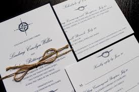 how to create nautical wedding invitations modern designs