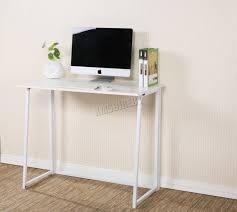 Corner Computer Desk Ebay by Foxhunter Foldable Computer Desk Folding Laptop Pc Table Home