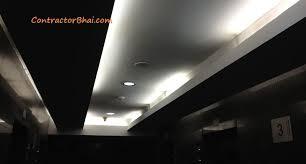 Led Light For Ceiling Led Lights For False Ceiling India Downmodernhome