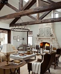 french country living room ideas brown leather sofa fancy
