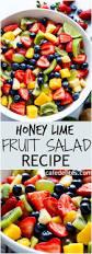 honey lime fruit salad recipe cafe delites