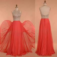 beaded coral prom dresses u2013 mypromdress