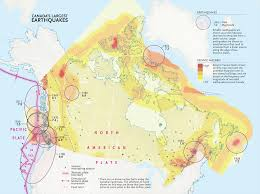Swaziland Map Mapping Canada U0027s Biggest Earthquakes Canadian Geographic