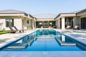 u shaped house plans with pool beautiful homes with poolsc shaped house plans with swimming pool