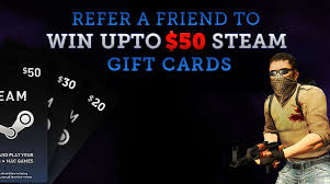 buy steam gift cards refer a friend and get steam gift cards free kill ping