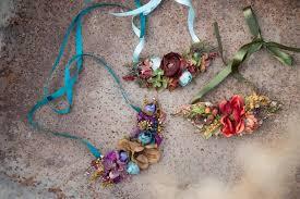 necklace flower handmade images Floral necklace colored necklace handmade autumn necklace necklace jpg