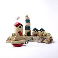 sculpture ceramics and pottery miniature office decor ceramic